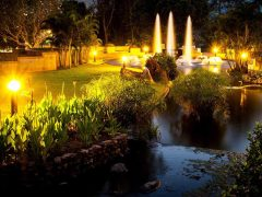 outdoor landscape lighting designs